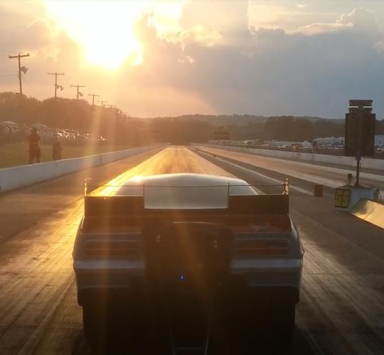 Winning Run with Sunset – Bowling Green
