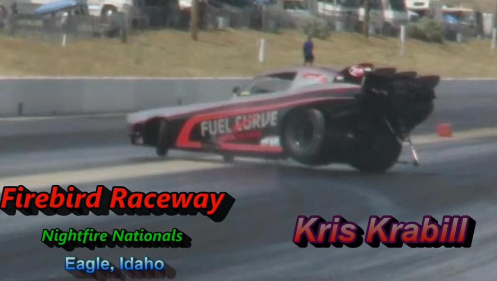 Firebird Raceway 2018 Nightfire AA Funny Cars Kris Krabill