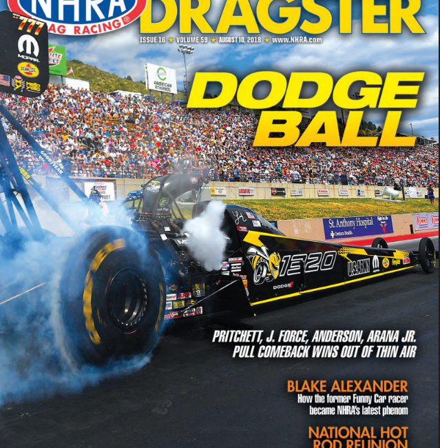 NHRA National Dragster