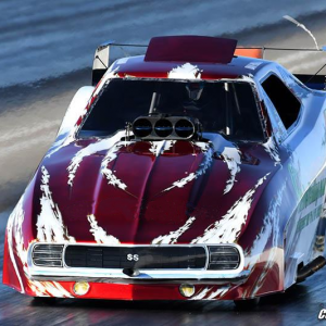 Dan Horan Strive Testing Funny Car Hero